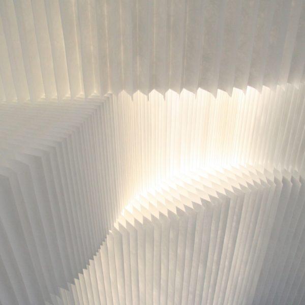 イロコデザインでレンタルできる光るパーテーション