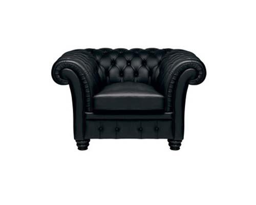 Chesterfield Armchair Black
