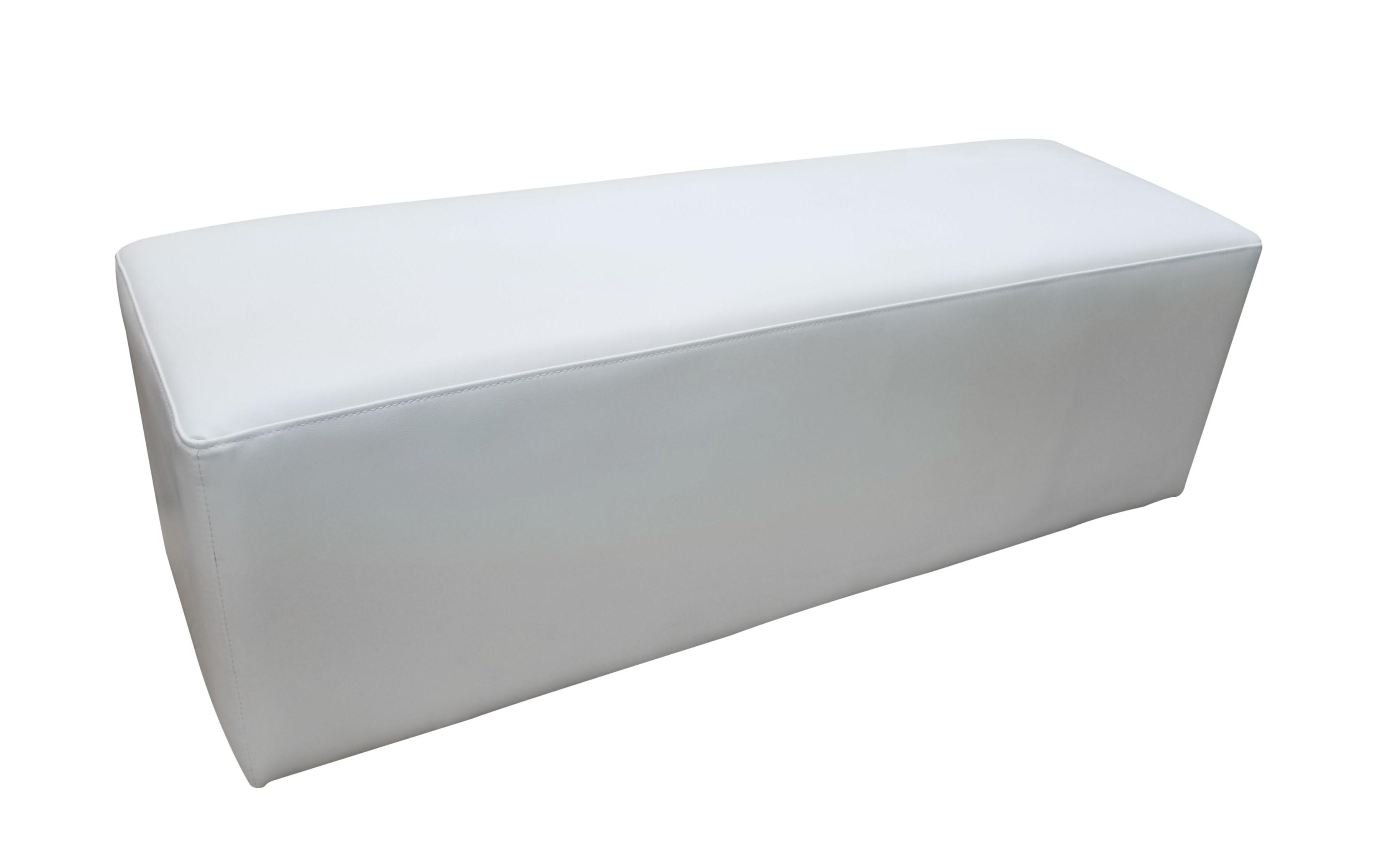 イロコデザインでレンタルできるホワイトプーフ