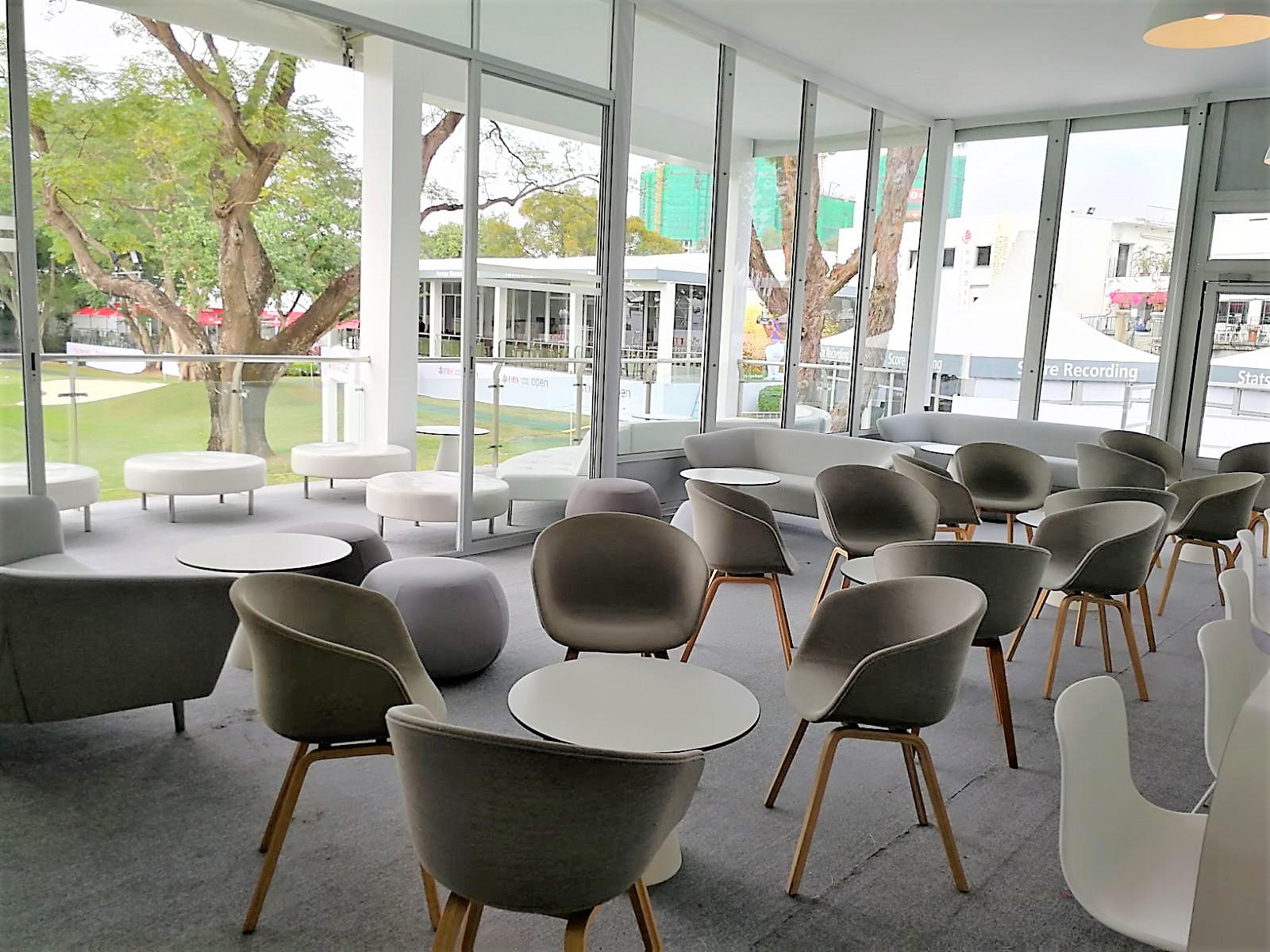 イロコデザインでレンタルできるテーブルやラウンジチェア