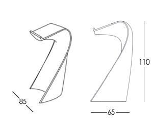 イロコデザインでレンタルできる光るポディウム