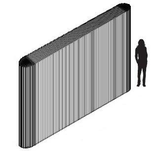 イロコデザインでレンタルできる変形自在なパーテーション