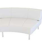 イロコデザインでレンタルできるホワイトソファ